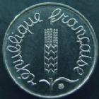 Photo numismatique  Monnaies Monnaies Françaises Cinquième république 1 centimes épi 1 centime Epi 1983, G.91 Q.FDC
