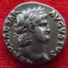 Photo numismatique  Monnaies Empire Romain NERON, NERO Denier, denar, denario, denarius NERO, NERON, denier Rome en 65-66, Salus, 3,34 grms, RIC.I 60 Beau portrait! TTB+