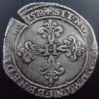 Photo numismatique  Monnaies Monnaies Royales Henri III Franc au col plat HENRI III, Franc au col plat 1578 S Troyes, 13,87 grms, DY.1130 TTB