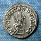 Photo numismatique  Monnaies Empire Romain GORDIEN III, GORDIAN III, GORDIANUS III, GORDIANO III Denier, denar, denario, denarius GORDIEN III Denier (denarius, denar) Rome en 238.244, Cohen 340 TTB à SUPERBE