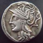 Photo numismatique  Monnaies République Romaine Appuleia 104 avant Jc Denier, denar, denario, denarius LUCIUS APPULEIUS SATURNINUS, Denier 104 avant Jc, quadrige, 3,96 grms, RSC Appuleia 1 variante, TTB+/TTB