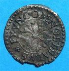 Photo numismatique  Monnaies Monnaies Féodales Alsace Rappenvierer MULHOUSE 1623 Rappenvierer Poinsignon.7 TTB Très rare!