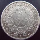 Photo numismatique  Monnaies Monnaies Françaises Troisième République 2 Francs 2 francs Cérès 1895 A, G.530a TTB