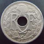 Photo numismatique  Monnaies Monnaies Françaises Troisième République 25 centimes Lindauer 25 centimes Lindauer 1920, G.380 SUPERBE