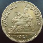 Photo numismatique  Monnaies Monnaies Françaises Troisième République Bon pour 2 francs Domard bon pour 2 francs 1921, G.533 TTB à SUPERBE