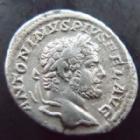 Photo numismatique  Monnaies Empire Romain CARACALLA Denier, denar, denario, denarius CARACALLA, denier Rome en 213, Marti Propugnatori, 2,74 grms, RIC.223 TTB