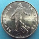 Photo numismatique  Monnaies Monnaies Françaises Cinquième république 5 Francs 5 francs Semeuse 1992, G.771 SUPERBE à FDC