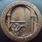 Photo numismatique  Monnaies Médailles Etrangères Italie, Italia, Italien Médaille, Médaillen, Medals Italie, Italia, université de Pise (Pisa), médaille en bronze de 54,5 mm, 100 eme anniversaire 1848-1948, O.F MOSSOTTI, SUPERBE