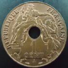 Photo numismatique  Monnaies Anciennes colonies Françaises Indochine 1 Centime Indochine Française, 1 centime 1938 A, LEC.99 SUPERBE