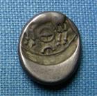 Photo numismatique  Monnaies Monnaies Gauloises Aedui, Eduens Denier, denar, denario, denarius EDUENS (aedui) denier à la tête casquée, Latour 5099 TTB+/TTB R!
