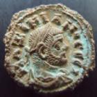 Photo numismatique  Monnaies Colonies Romaines Maximianus Herculus, Maximien Hercule, 286.310 Tétradrachme MAXIMINANUS Herculius, MAXIMIEN Hercule, Alexandrie, Alexandria, tétradrachme LZ= année 7 291-292, Spes, 6,24 grms, Datt.5878 TTB+