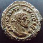 Photo numismatique  Monnaies Colonies Romaines Diocletianus, Diocletien 294.305 Tétradrachme DIOCLETIANUS, DIOCLETIEN, Alexandrie, Alexandria, tétradrachme LH= année 8 291-292, Zeus, 8,75 grms, Datt.5777 TTB+