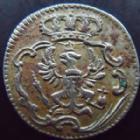 Photo numismatique  Monnaies Allemagne avant 1871 Allemagne, Deutschland, Brandenburg Preussen 1 Mariengroschen Brandenburg Preussen, Friedrich II, 1 mariengroschen 1753 D, 1,80 grms, Olding.256b TTB+