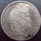 Photo numismatique  Monnaies Monnaies Françaises Louis Philippe 5 Francs LOUIS PHILIPPE, 5 francs 1831 A, G.677a TB+