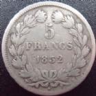 Photo numismatique  Monnaies Monnaies Françaises Louis Philippe 5 Francs LOUIS PHILIPPE, 5 francs 1832 MA Marseille, G.678 TB