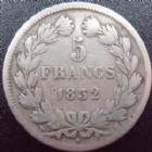 Photo numismatique  Monnaies Monnaies Fran�aises Louis Philippe 5 Francs LOUIS PHILIPPE, 5 francs 1832 MA Marseille, G.678 TB