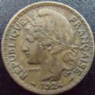Photo numismatique  Monnaies Anciennes colonies Françaises Cameroun 2 Francs CAMEROUN, 2 francs 1924, LEC.10 TTB