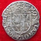 Photo numismatique  Monnaies Monnaies/médailles de Lorraine Charles IV et Nicole Gros CHARLES IV et NICOLE, Gros daté 1625 (sans le 2 de 1625), 1,04 grms, Flon.16 TTB