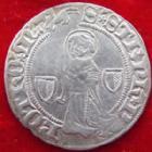 Photo numismatique  Monnaies Monnaies/médailles de Lorraine Metz Gros au St Etienne agenouillé METZ, gros au Saint Etienne agenouillé, 1415-1540, 2,71 grms, Flon.9 TTB/TTB+