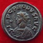 Photo numismatique  Monnaies Empire Romain PROBUS, PROBIO Antoninien, antoninianus, antoniniane PROBUS, antoninien Ticinium en 276-282, Securit Perp, 3,86 grms, RIC.524 TTB à SUPERBE