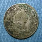 Photo numismatique  Monnaies Monnaies étrangères Allemagne Brandenburg Bayreuth 10 Kreuzers Allemagne Brandenburg Bayreuth, 10 kreuzers 1766 ES TB+