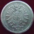 Photo numismatique  Monnaies Allemagne après 1871 Allemagne, Deutschland, Empire, Kaisereich 50 Pfennig Allemagne, Deutschland, Kaisereich, Empire, 50 pfennig 1877 B, J.7 TTB