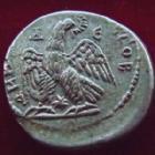 Photo numismatique  Monnaies Colonies Romaines Syria, Syrie, Elagabalus, Elagabal Tetradrachme, Tetradrachm SYRIE, SYRIA, Antioche, Elagabalus, Elagabal, tétradrachme 218-222, Aigle, 13,16 grms, Mc Alee.761 Bon TTB