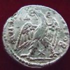 Photo numismatique  Monnaies Colonies Romaines Syria, Syrie, Elagabalus, Elagabal Tetradrachme, Tetradrachm SYRIE, SYRIA, Antioche, ELAGABALUS, ELAGABAL, tétradrachme 218-222, Aigle, 12,81 grms, P.273 var. TB à TTB/TB+
