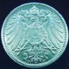 Photo numismatique  Monnaies Allemagne après 1871 Allemagne, Deutschland, Empire, Kaisereich 1 Mark Allemagne, Deutschland, Kaisereich, Empire, 1 mark 1916 F, J.17 SUPERBE à FDC