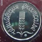 Photo numismatique  Monnaies Monnaies Françaises Cinquième république 1 centimes épi 1 centime Epi 1998, G.91 BU