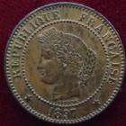 Photo numismatique  Monnaies Monnaies Françaises Troisième République 2 Centimes 2 centimes Cérès 1897 A, G.105 SUPERBE