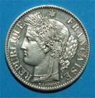 Photo numismatique  Monnaies Monnaies Françaises Troisième République 2 Francs 2 Francs type Cérès 1888 A Paris G.530 a Sup à Fdc