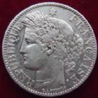 Photo numismatique  Monnaies Monnaies Françaises Troisième République 2 Francs 2 Francs Cérès 1887 A Paris, G.530a TTB+