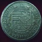 Photo numismatique  Monnaies Monnaies/medailles d'Alsace Ensisheim Taler Ferdinand, Landgravia d'Alsace, Ensisheim, taler non daté, signature PB dans les D de Ferdinandus, Peter Baldus !!, 28,29 grms, EL.30/31 TTB+ Rare!