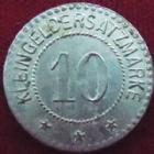 Photo numismatique  Monnaies Monnaies/medailles d'Alsace Sarre-Union, Saar-Bruckenheim 10 Pfennig Sarre-Union, Saar-Bruckenheim, 10 pfennig, Zn Ni, R 20 mm, Marchand 10.2 TTB+