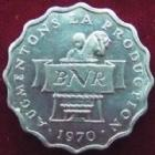 Photo numismatique  Monnaies Monnaies étrangères Rwanda 2 Francs Rwanda, deux francs, 2 francs 1970, augmentons la production, SUPERBE+