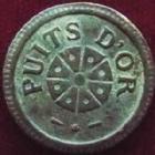 Photo numismatique  Monnaies Jetons Jeton à consommer Puits d'or 75 Jeton à consommer, Puits d'or 75, TTB