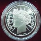 Photo numismatique  Monnaies Monnaies Fran�aises Cinqui�me r�publique 100 francs Libert� BE 100 Francs argent