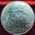 Photo numismatique  Monnaies Monnaies Françaises Cinquième république 100 francs libération de Paris 100 francs Libération de Paris 1994, G.935 SUPERBE