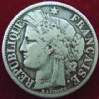 Photo numismatique  Monnaies Monnaies Françaises Troisième République 2 Francs 2 Francs Cérès 1888 A, G.530a TB+ Rare!