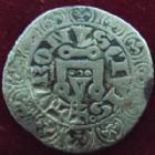 Photo numismatique  Monnaies Monnaies Royales Philippe IV Gros tournois � l'O rond PHILIPPE IV Le Bel, gros tournois � l'O rond, 1305, 2,76 grms, TB+