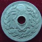Photo numismatique  Monnaies Monnaies Françaises Gouvernement Provisoire 20 Cmes 20 centimes zinc 1945, G.324 presque SUPERBE