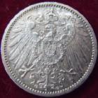 Photo numismatique  Monnaies Allemagne après 1871 Allemagne, Deutschland, Empire, Kaisereich 1 Mark Allemagne, Deutschland, Kaisereich, Empire, 1 mark 1915 G, KM.14 SUPERBE