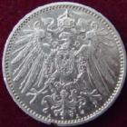 Photo numismatique  Monnaies Allemagne après 1871 Allemagne, Deutschland, Empire, Kaisereich 1 Mark Allemagne, Deutschland, Kaisereich, Empire, 1 mark 1915 A, J.17 SUPERBE