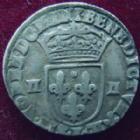 Photo numismatique  Monnaies Monnaies Royales Louis XIII 1/4 d'Ecu � la croix fleurdelis�e LOUIS XIII, 1/4 d'Ecu � la croix fleurdelis�e 1615 L Bayonne, 9,51 grms,  L4L.16 TTB+