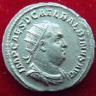 Photo numismatique  Monnaies Empire Romain BALBIN, BALBINUS, BALBINO Antoninien, antoninianus, antoniniane BALBIN, BALBINUS, Antoninien Rome en 238, Fides Mvtva Avgg, 3,62 grms, RIC.11 Quasi SUPERBE R!