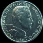 Photo numismatique  Monnaies Monnaies étrangères Monaco 50 Centimes MONACO, 50 centimes 1968, Rainier III, G.149 TTB+