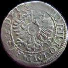 Photo numismatique  Monnaies Monnaies/medailles d'Alsace Strasbourg 3 Kreuzers STRASBOURG, Evêché, Charles de Lorraine, 3 kreuzers 1605, Rudolf II, 1,69 grms, EL.246 Saverne, TTB