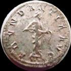 Photo numismatique  Monnaies Empire Romain PROBUS, PROBIO Antoninien, antoninianus, antoniniane PROBUS, antoninien Lyon en 276-282, Abundantia Aug, 3,81 grms, RIC 60 TTB/TTB+ argenture!