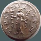 Photo numismatique  Monnaies Empire Romain PROBUS, PROBIO Antoninien, antoninianus, antoniniane PROBUS, antoninien Lyon en 276-282, Fides Militum III, 3,61 grms, RIC 29 SUPERBE/TTB+ Argenture!